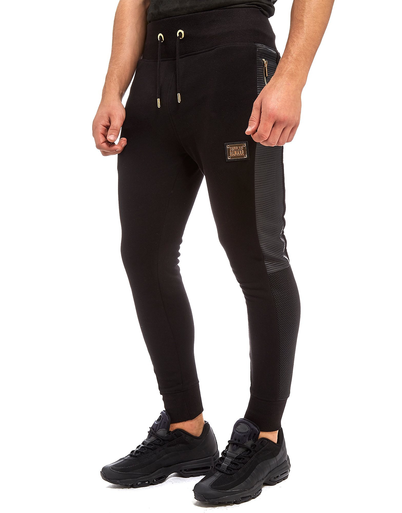 Supply & Demand Lazaro Joggers - Only at JD, Black
