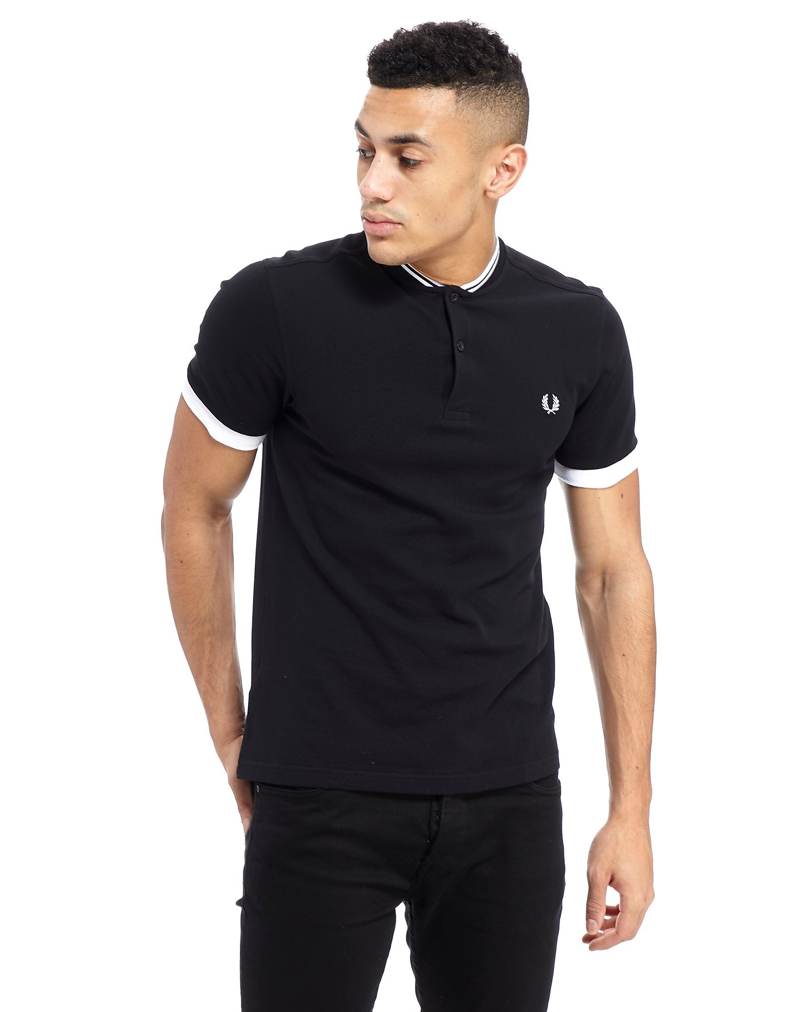 Fred Perry Bomber Neck Polo Shirt