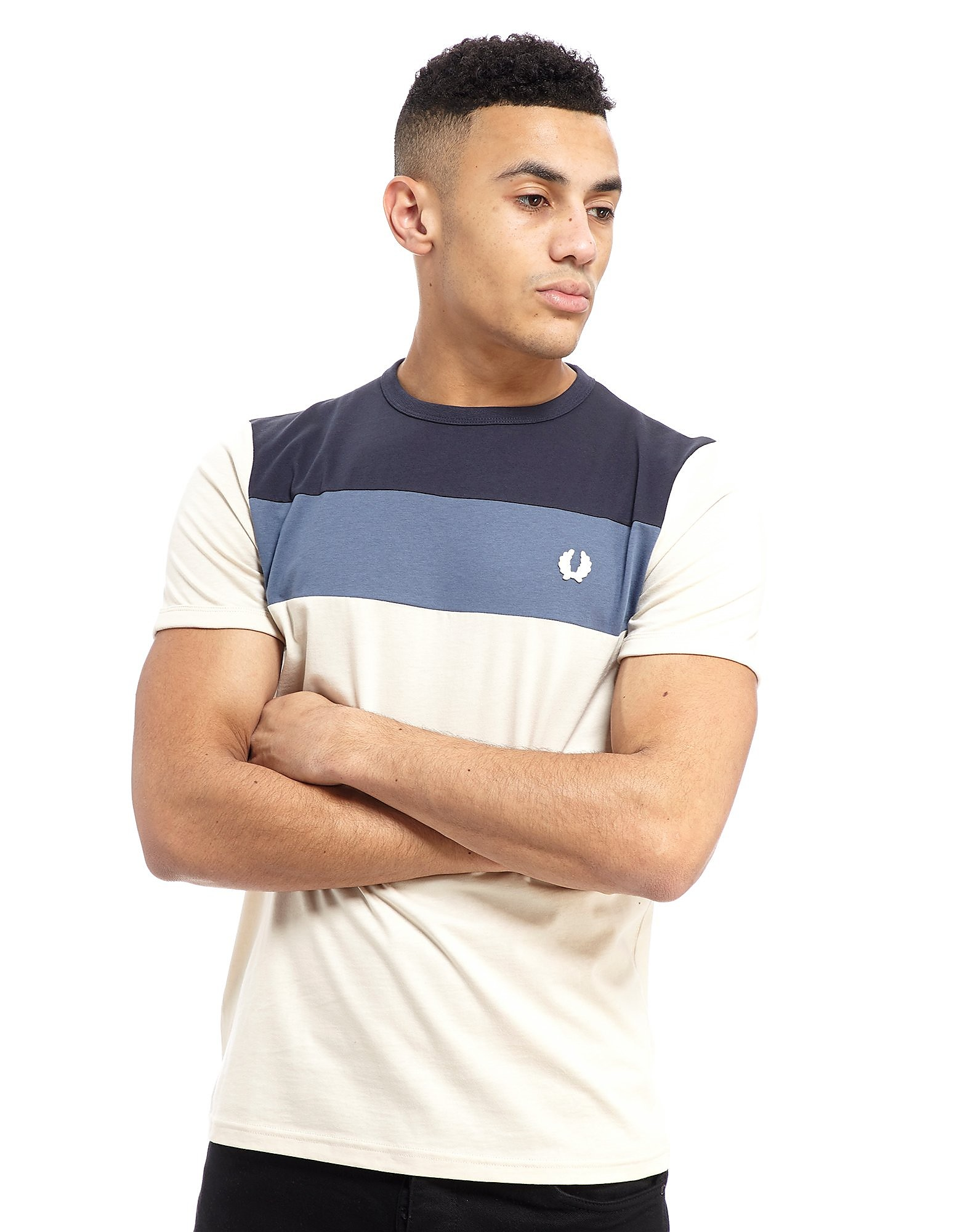 Fred Perry Colourblock Panel T-Shirt