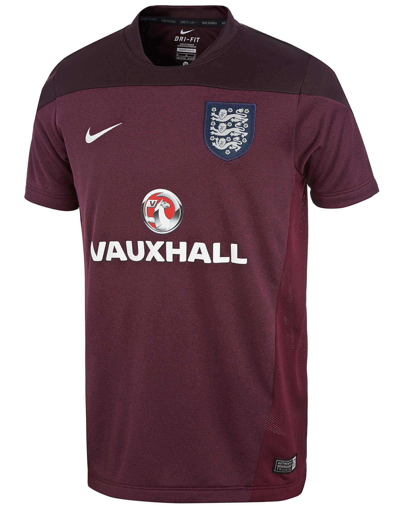 Nike England Training Top Junior