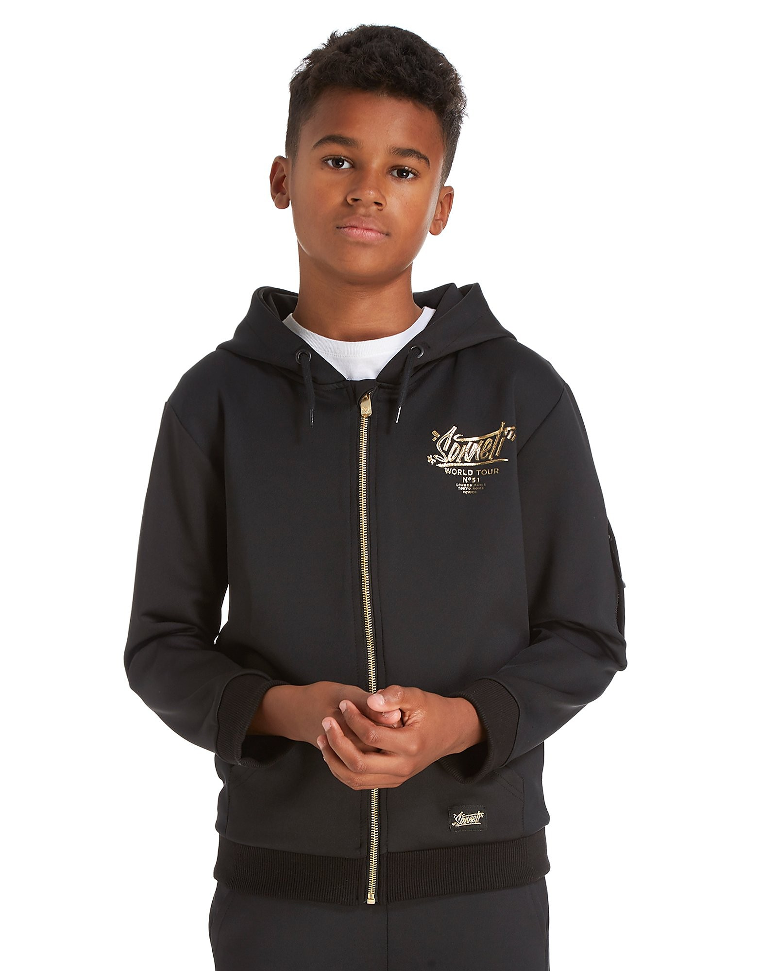 Sonneti Blingtastic Full Zip Hoodie Junior