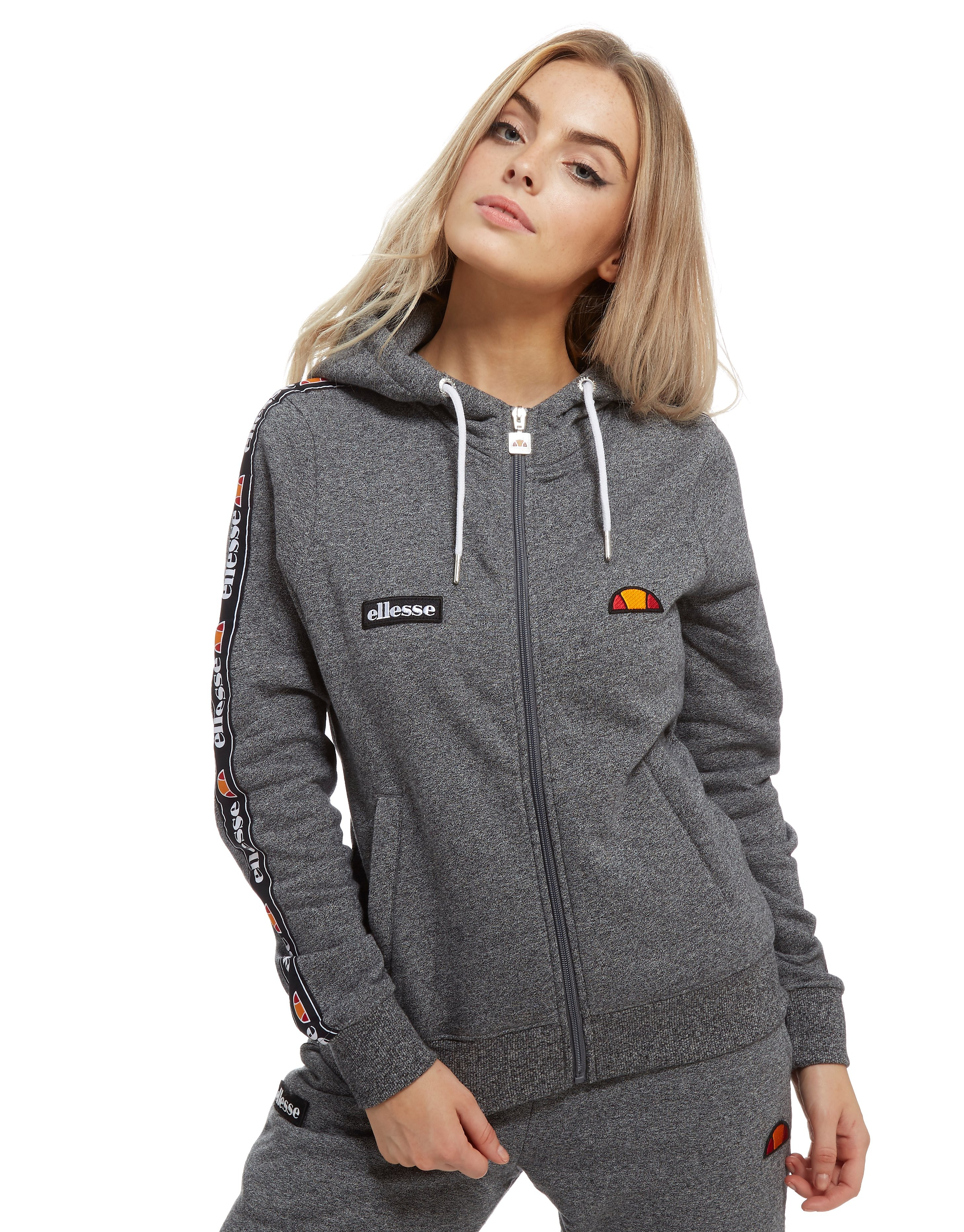 Ellesse Tape Fleece Full Zip Hoodie