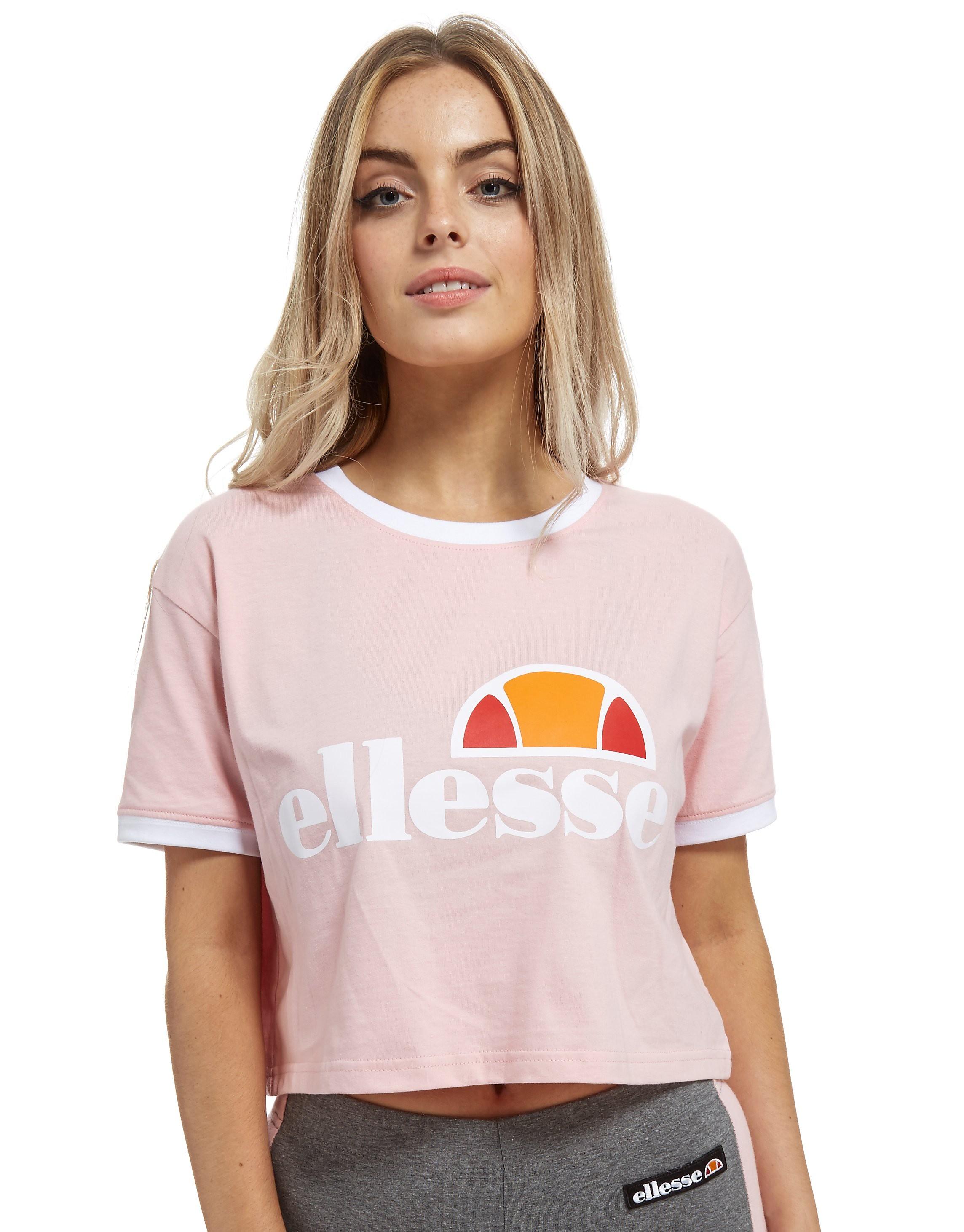 Ellesse Crop Top Ring T-Shirt
