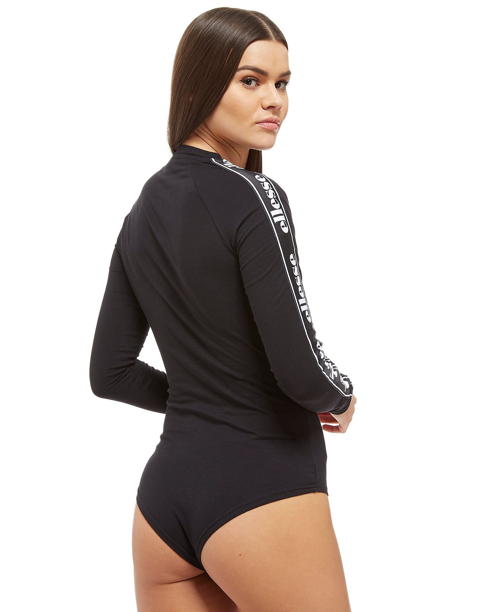 Ellesse Long Sleeve Tape Logo Bodysuit Dames