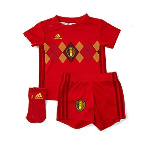 adidas Belgium 2018 Home Kit Infant ... 34e0a02fe