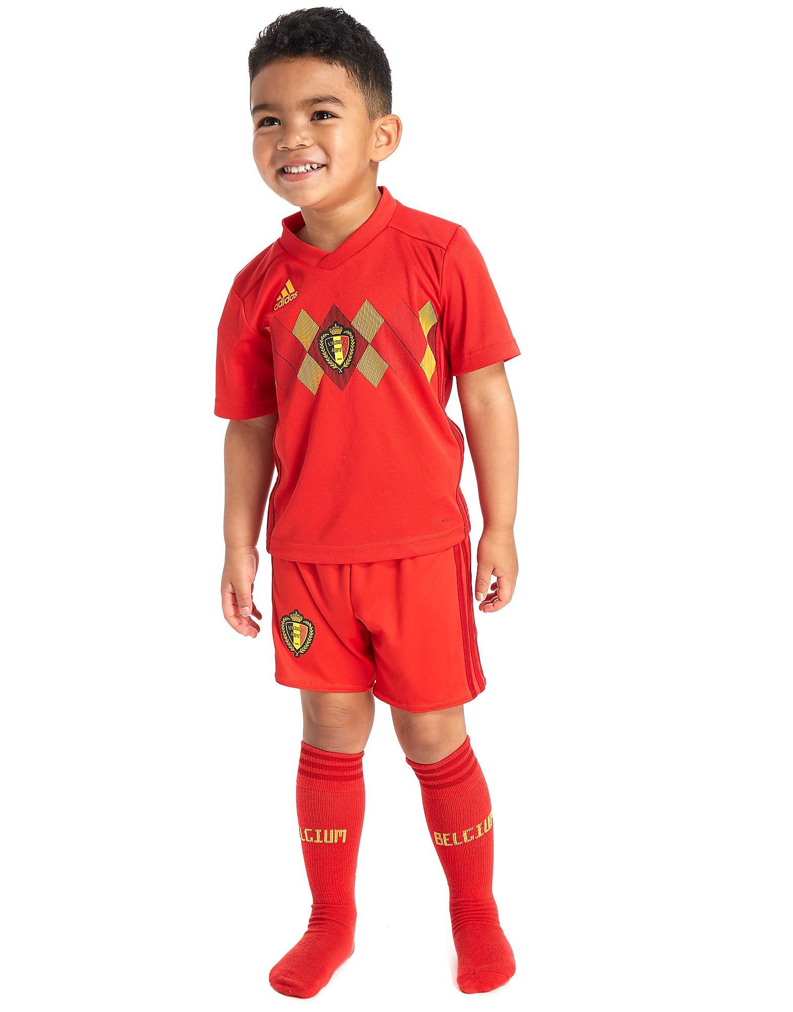 adidas Belgium 2017/18 Mini Kit Children