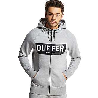 Duffer of St George Black Label Veler Full Zip Hoody