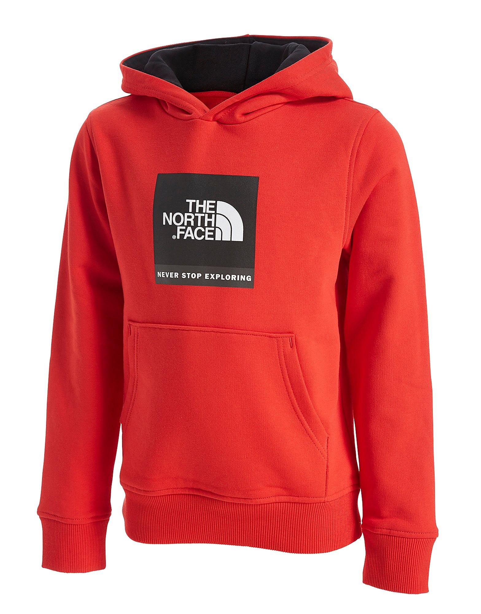 The North Face sudadera con capucha Box Logo júnior