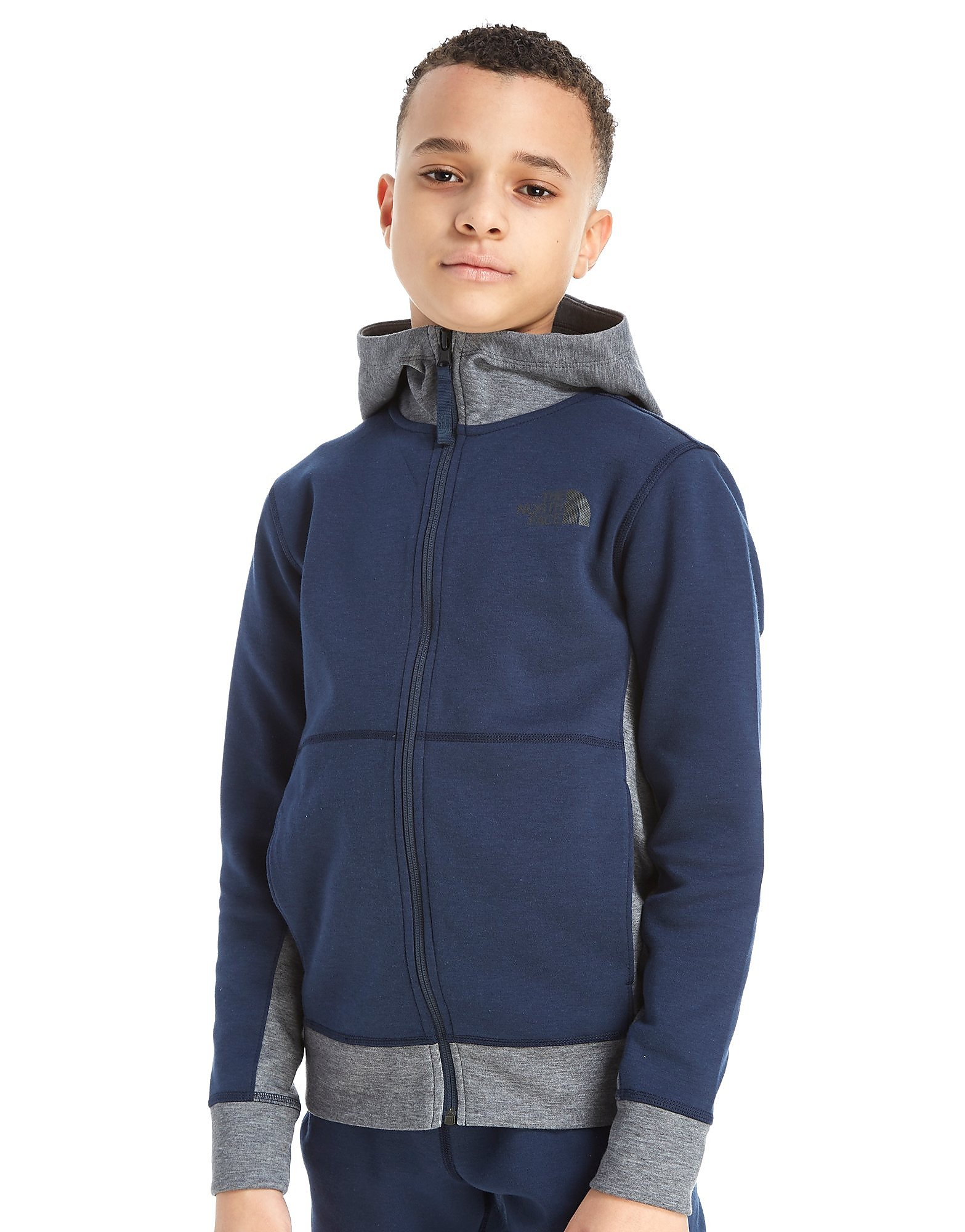 The North Face sudadera Slacker Full Zip júnior