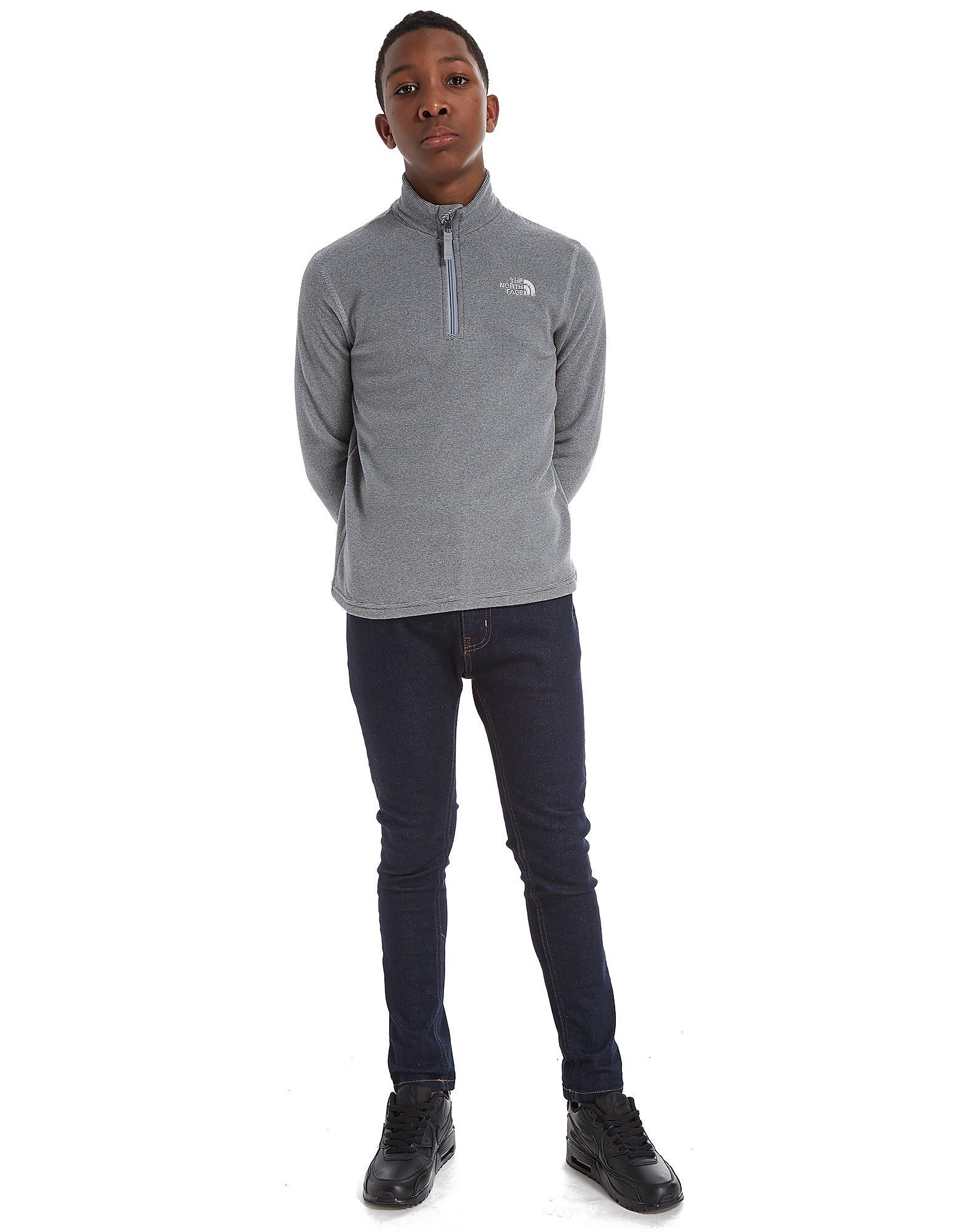 The North Face camiseta 100 Glacier 1/4 Zip júnior