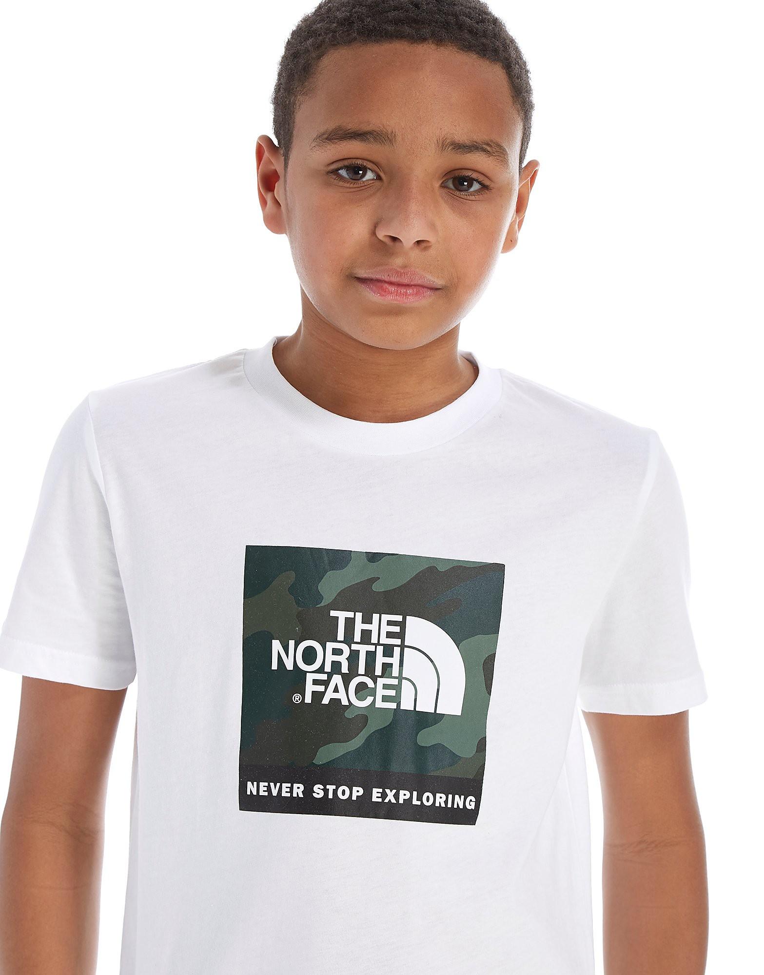 The North Face Box Logo T-Shirt Junior