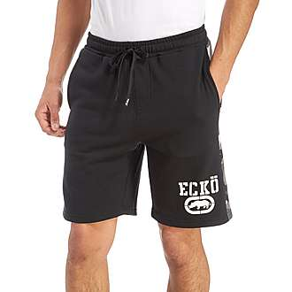 Ecko Doug Fleece Camo Trim Shorts