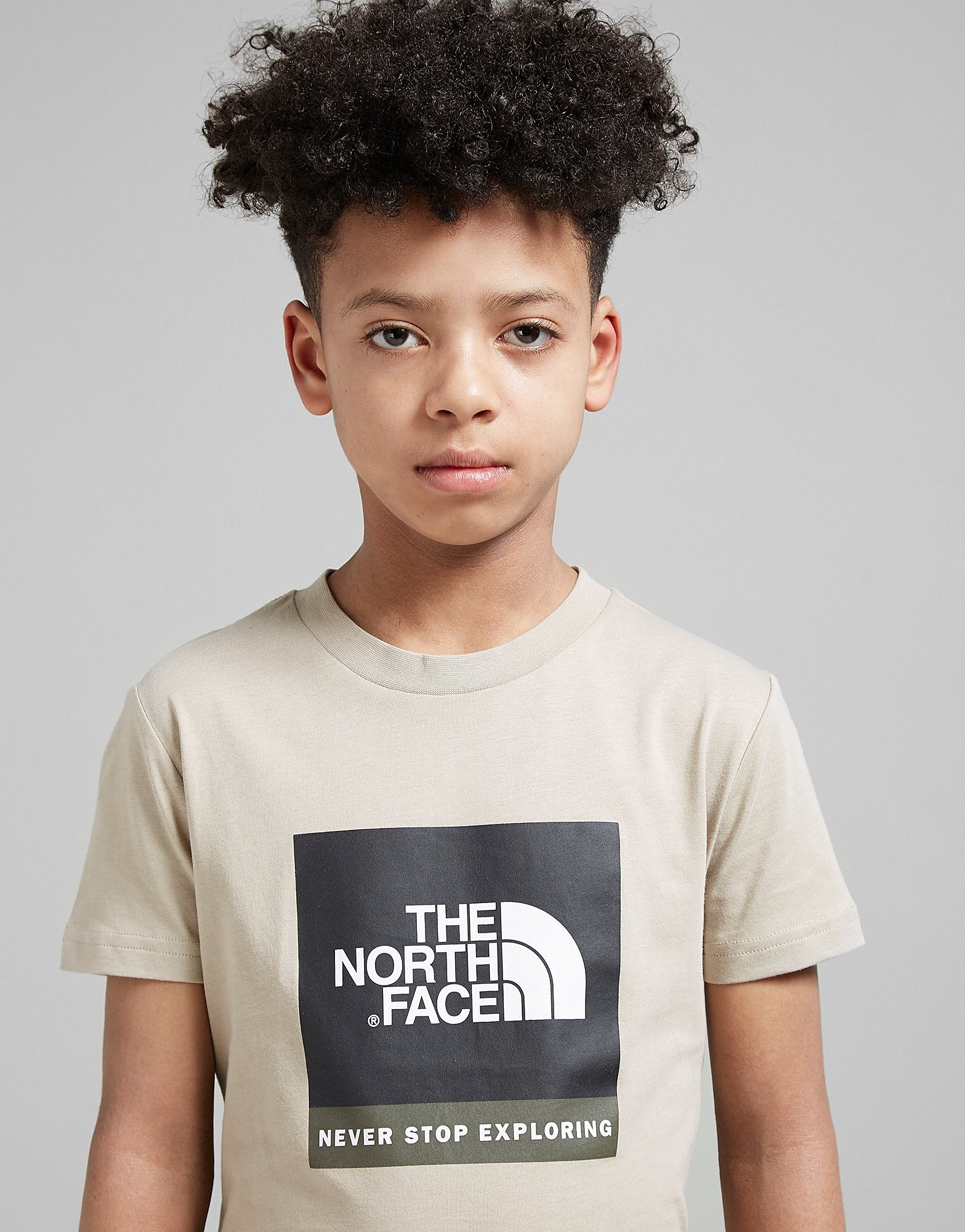 The North Face camiseta Box Logo júnior