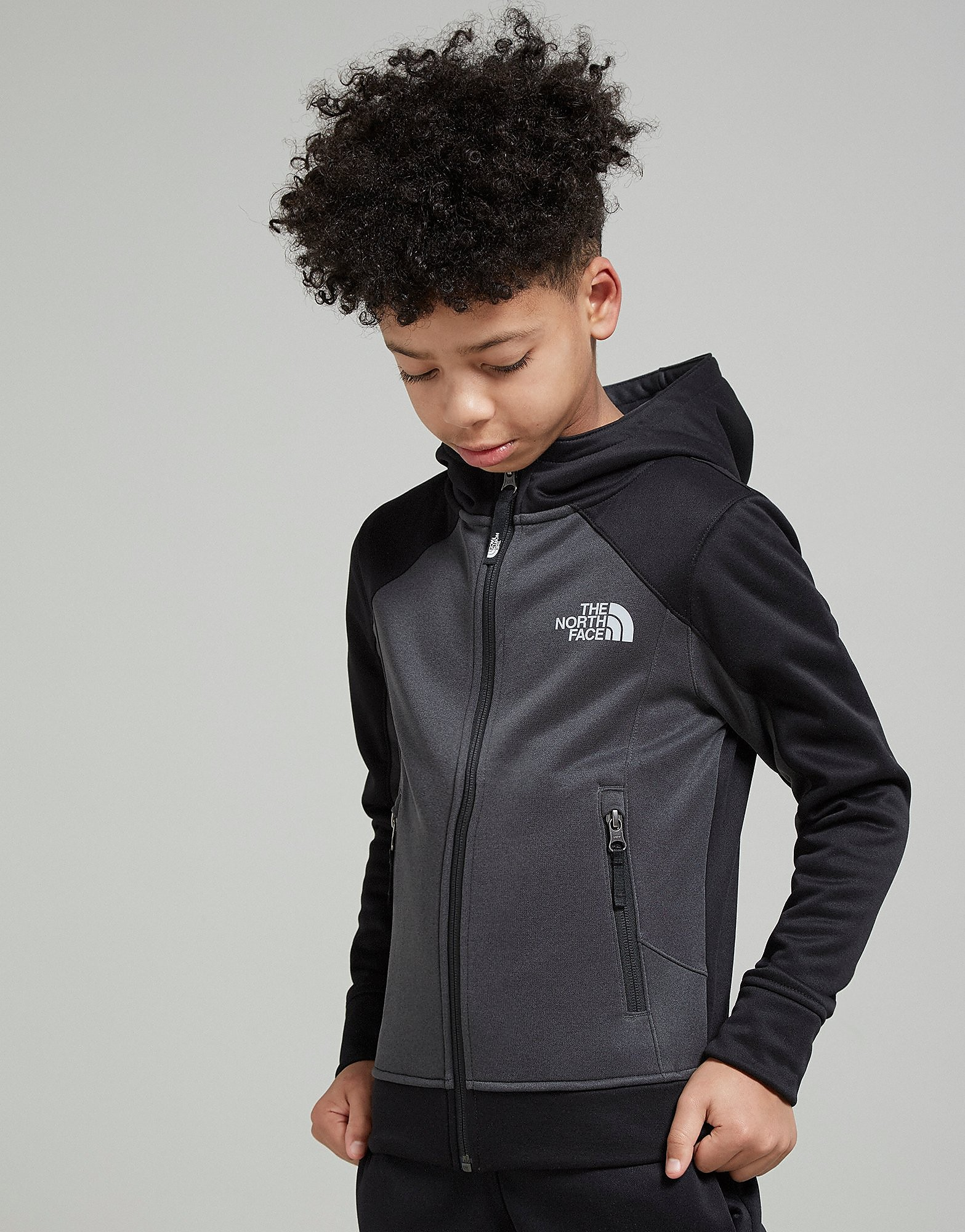 The North Face chaqueta Mittelegi Full Zip júnior