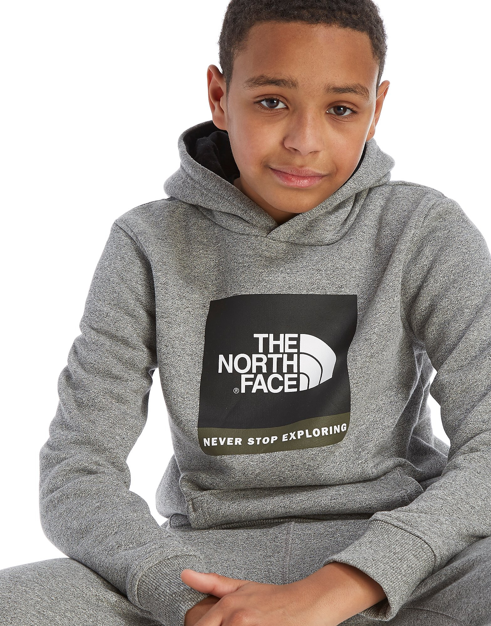 The North Face Box Logo Overhead Hoodie Junior