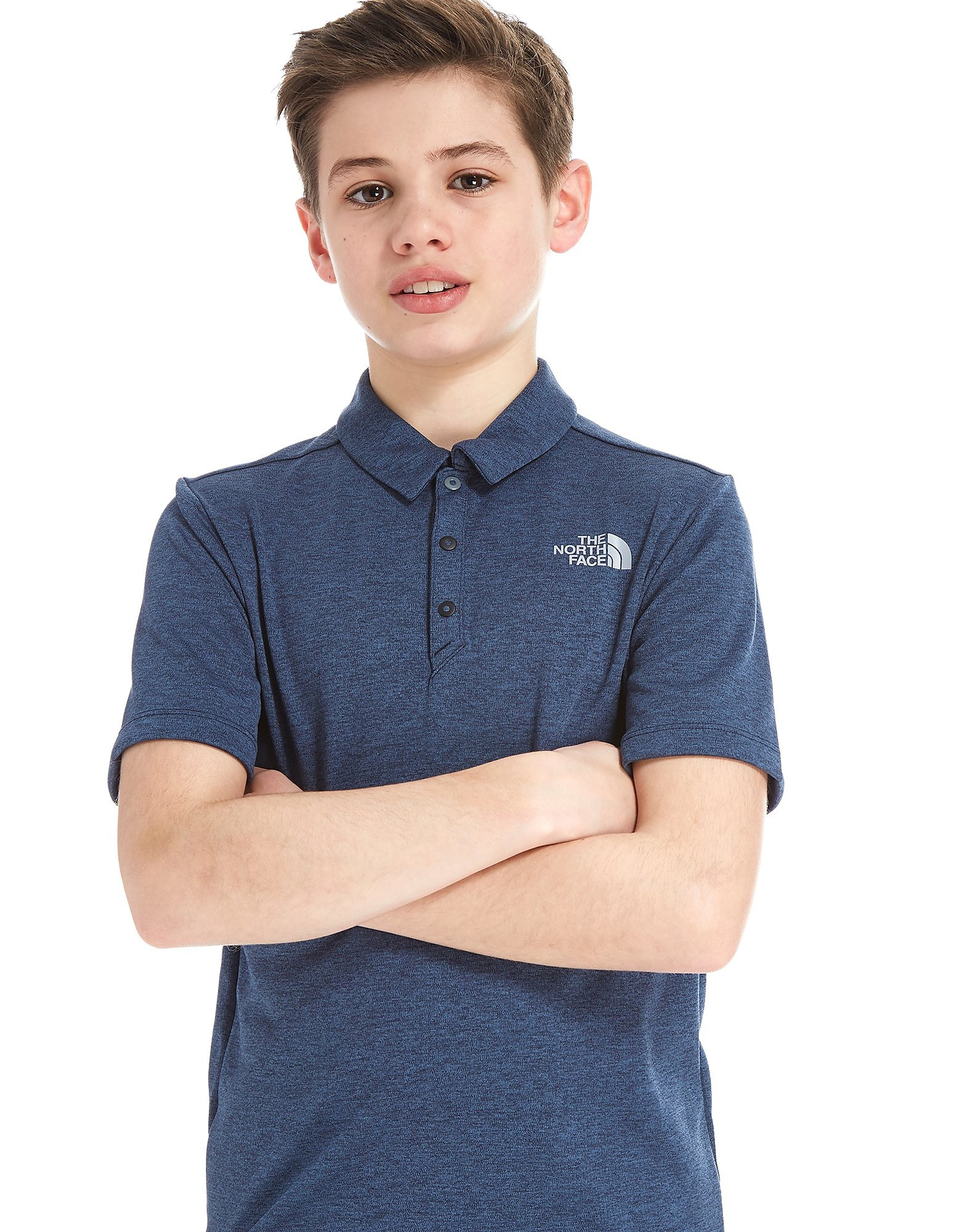 The North Face Poly Polo Shirt Junior - Blauw - Kind