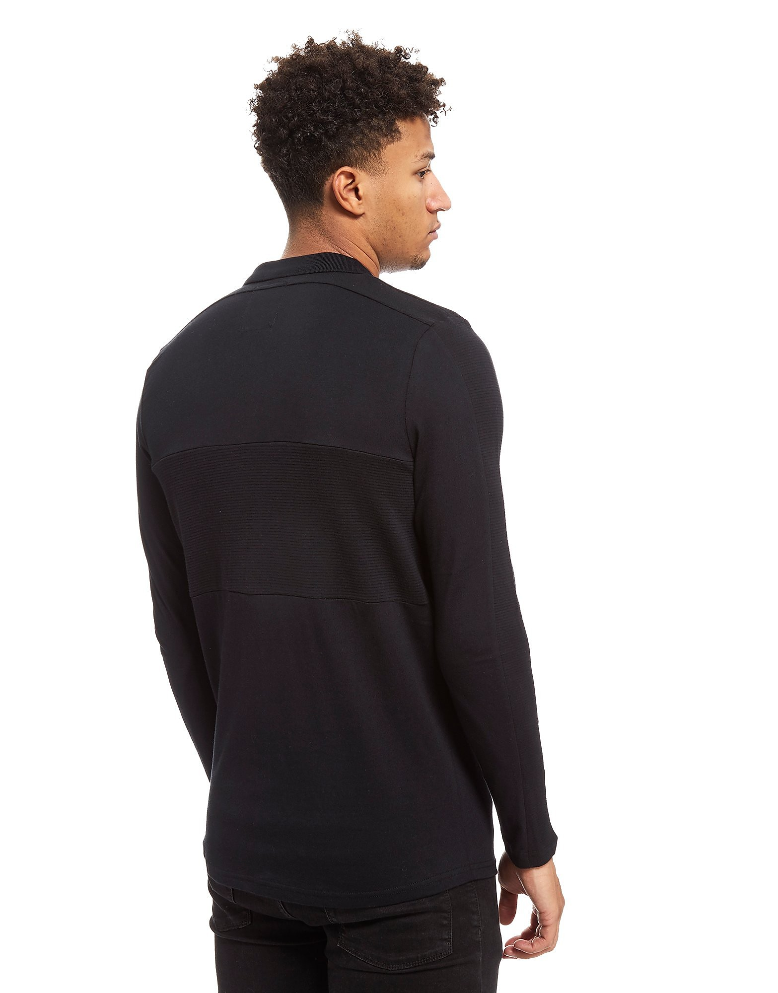 Nanny State Gearson Long Sleeve Polo Shirt Heren