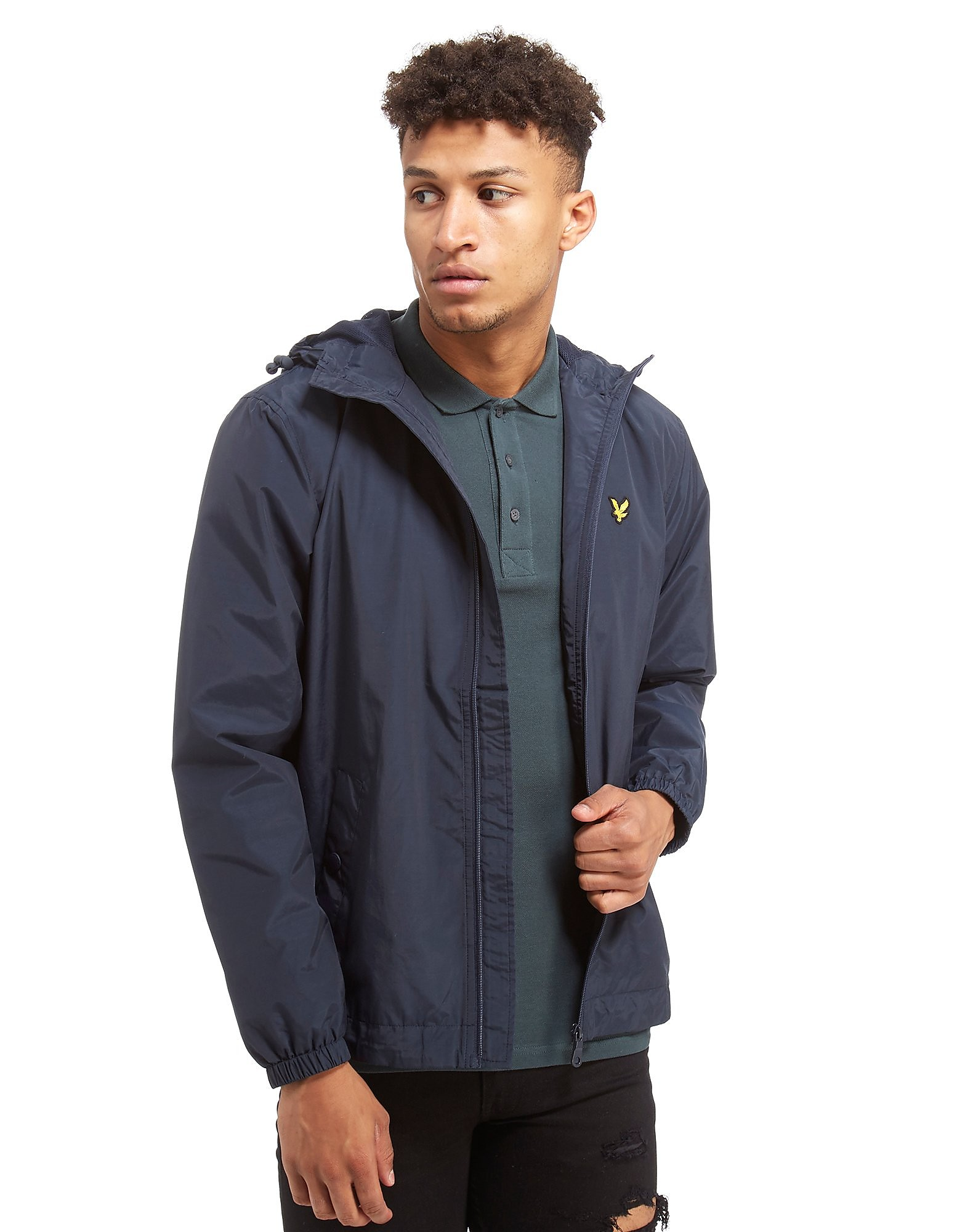 Lyle & Scott Zipped Through Hooded Jacket