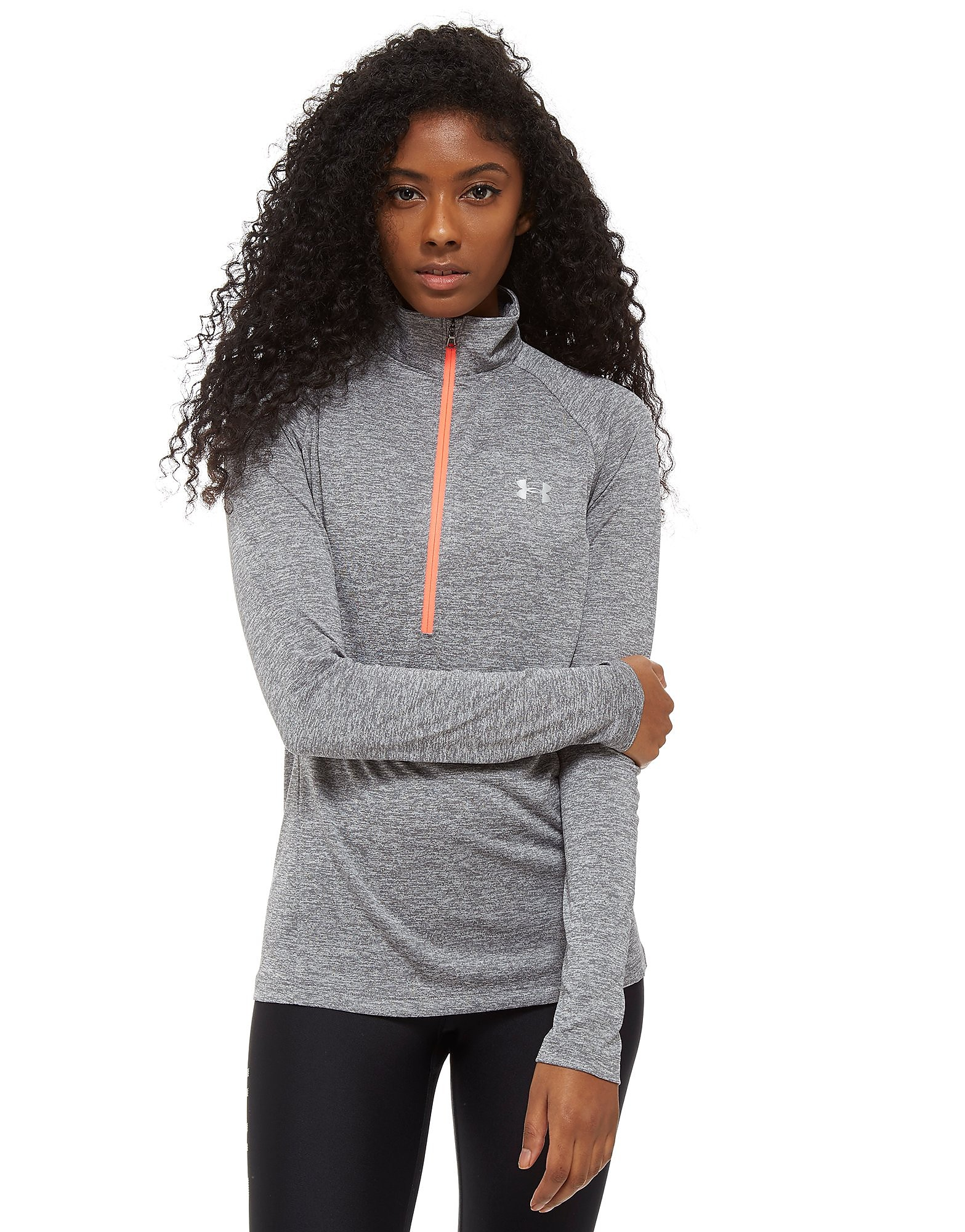 Under Armour Tech 1/4 Zip Top Dames