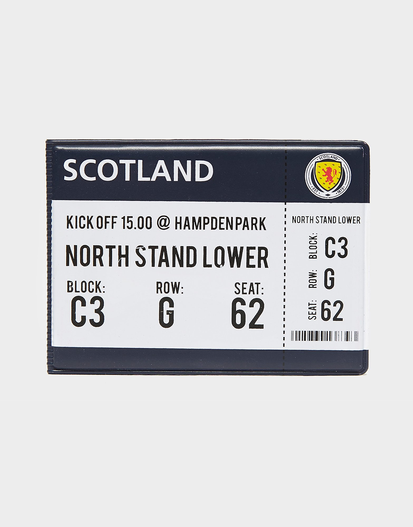Official Team Scotland FA Match Day-kaartenhouder