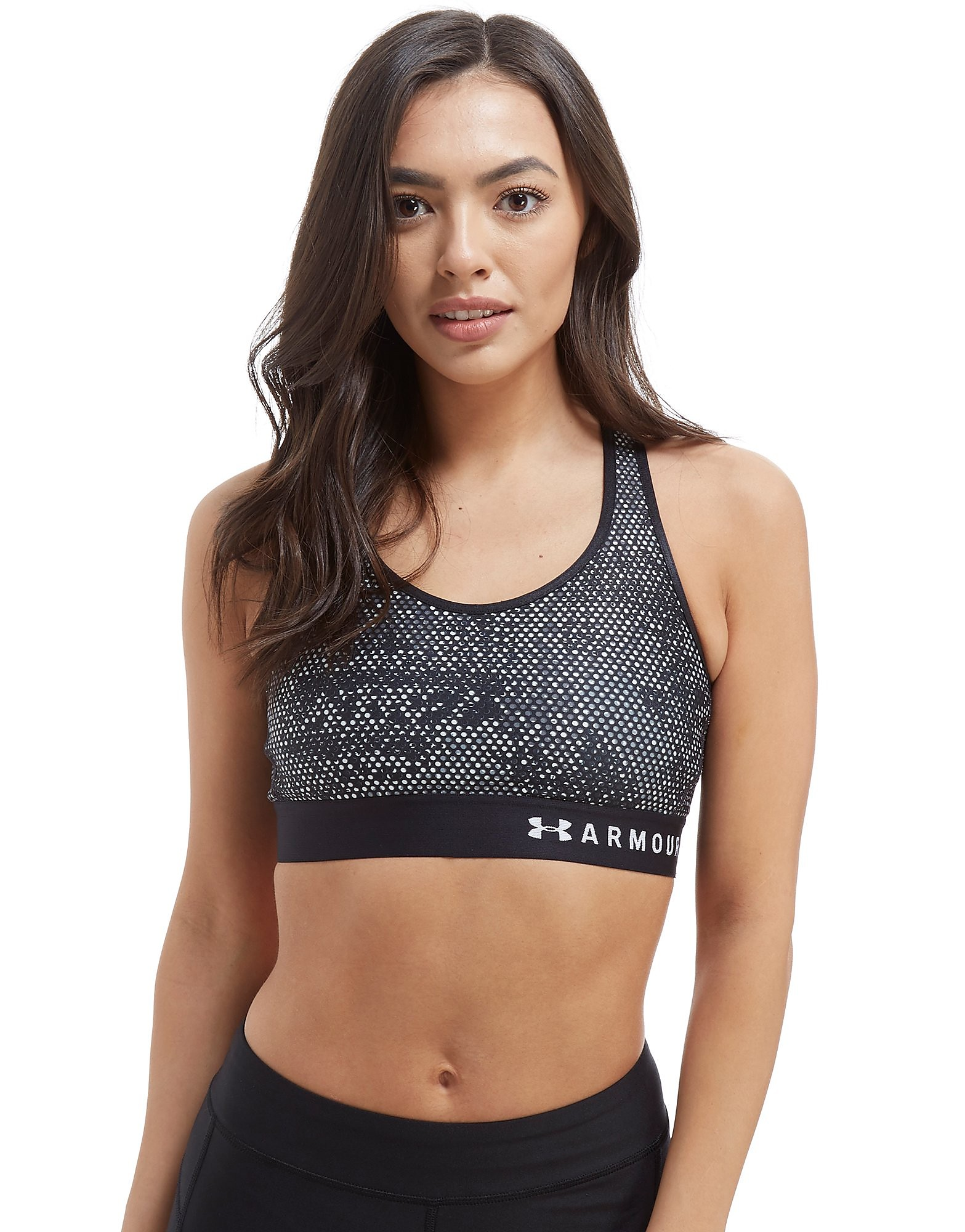 Under Armour Keyhole Print Sports Bra