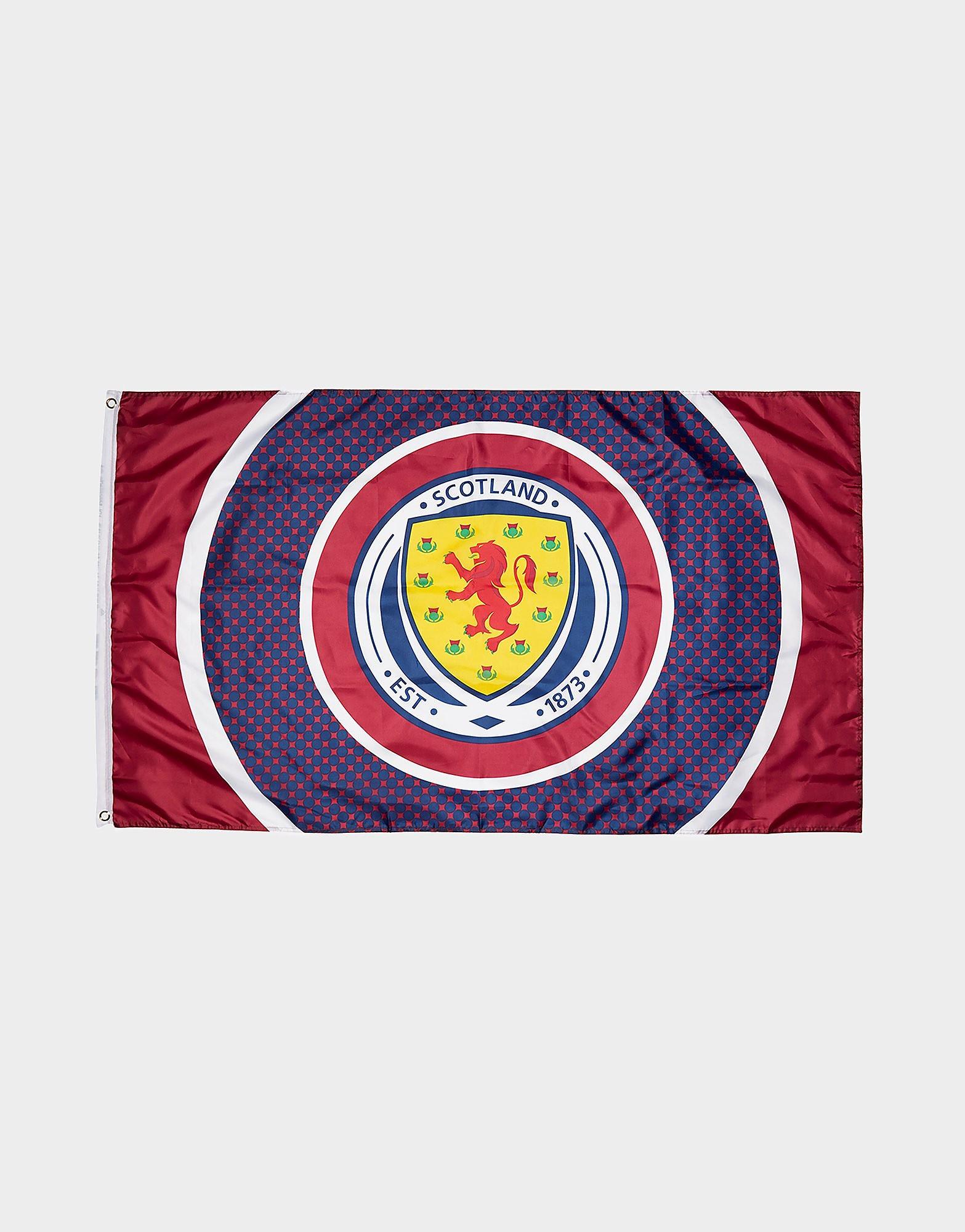 Official Team Vlag met Scotland FA in de roos - Blauw - Heren