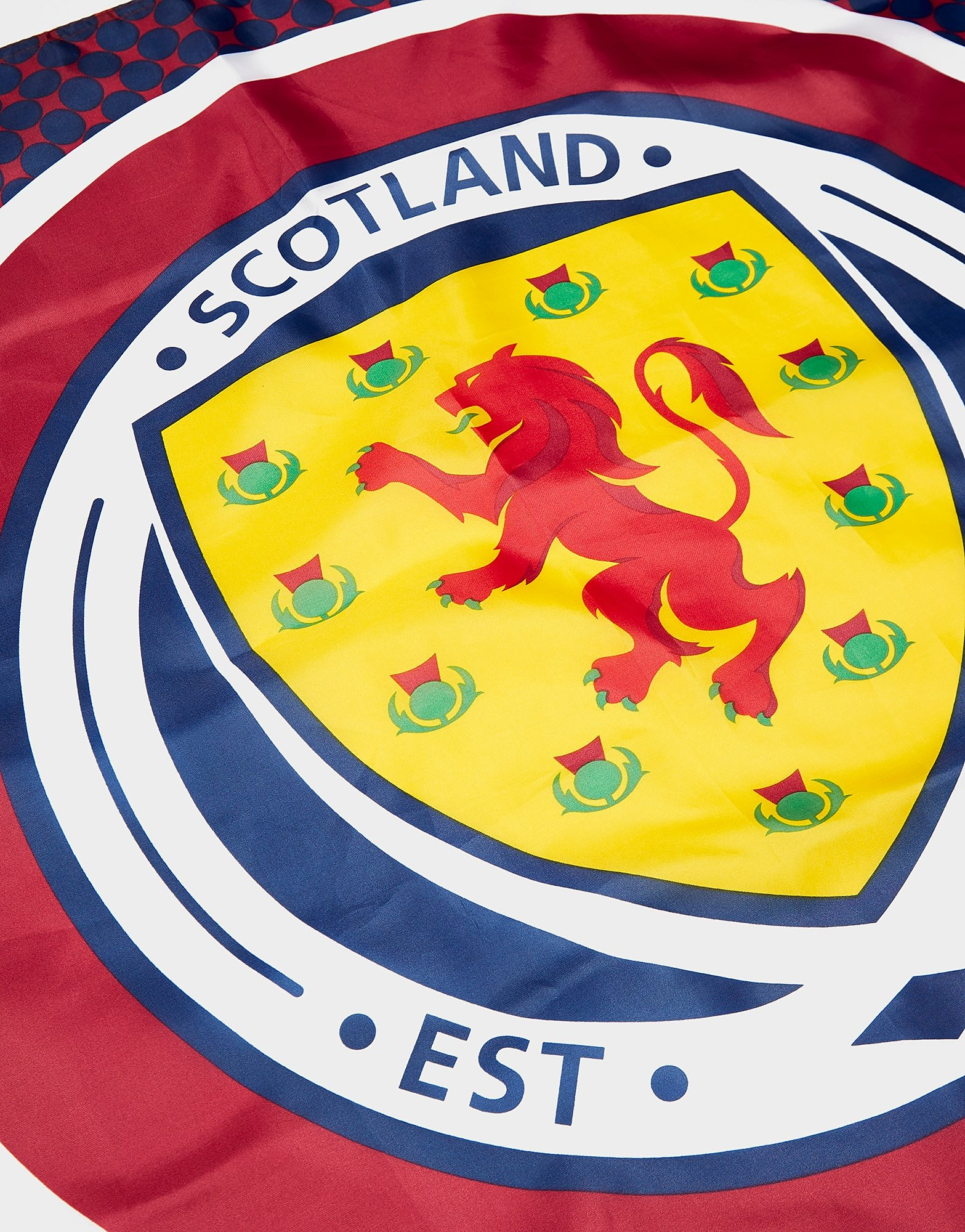 Official Team Vlag met Scotland FA in de roos