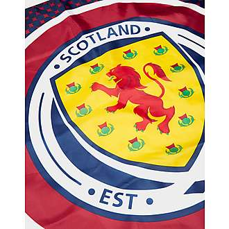 Official Team Scotland FA Bullseye Flag