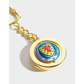 Official Team Scotland Spinner Keyring