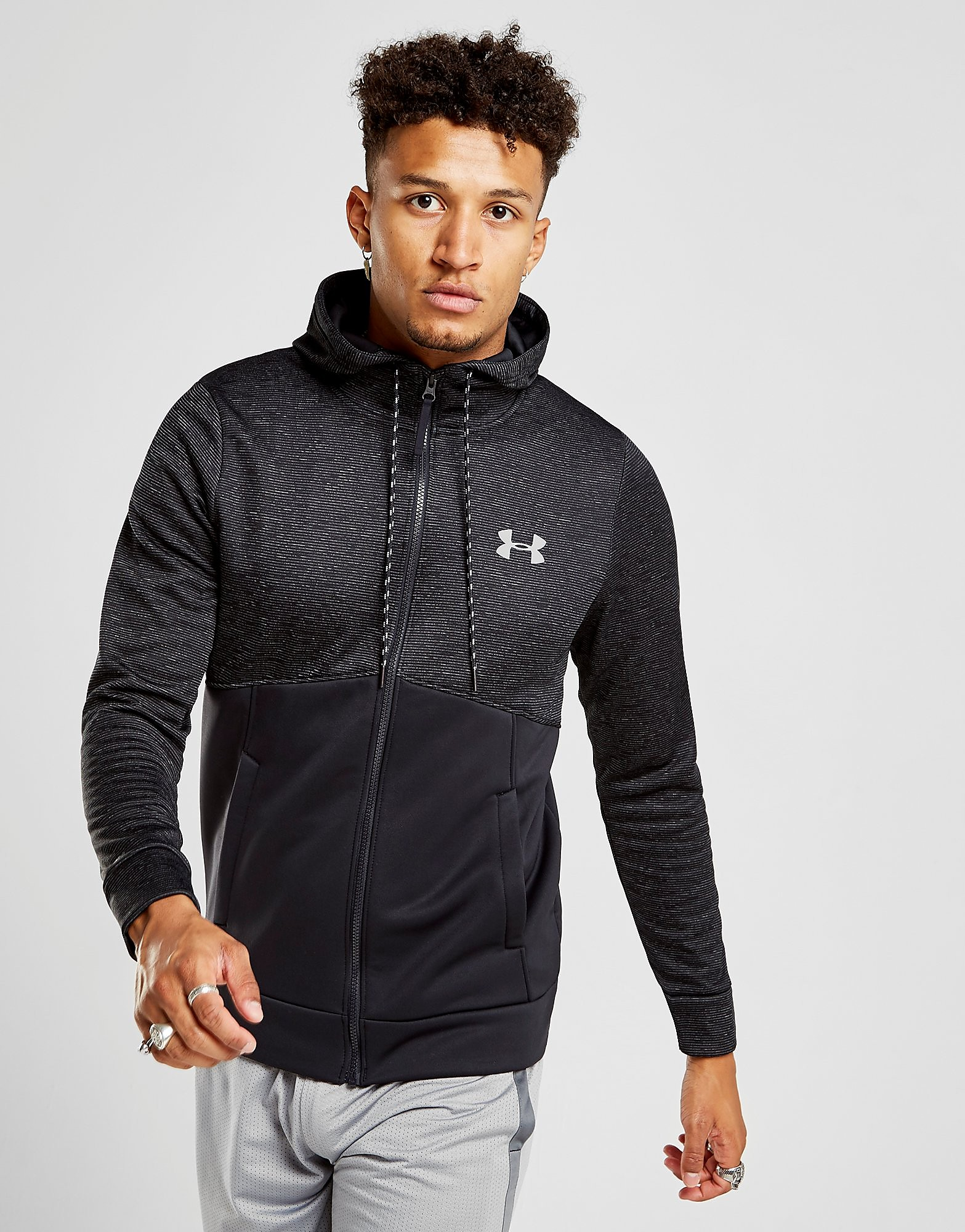Under Armour Twist Poly Full Zip Hoodie