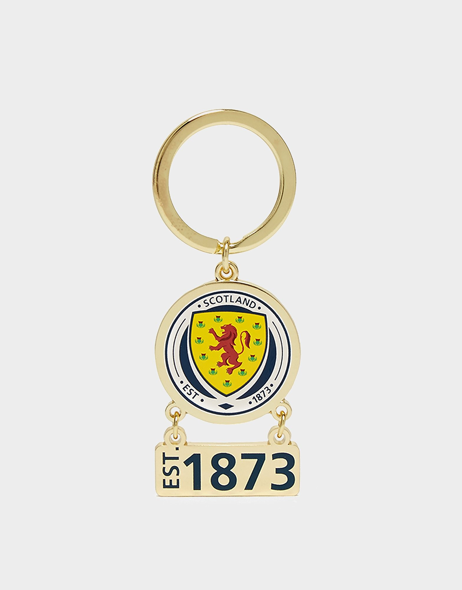 Official Team Scotland Swing Keyring