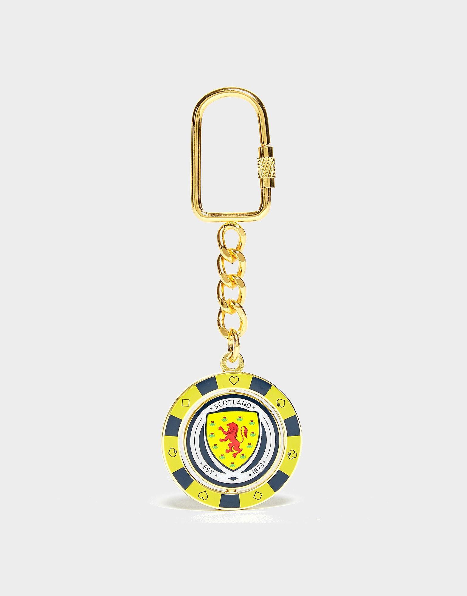 Official Team Schottland FA Poker Chip Schlüsselanhänger