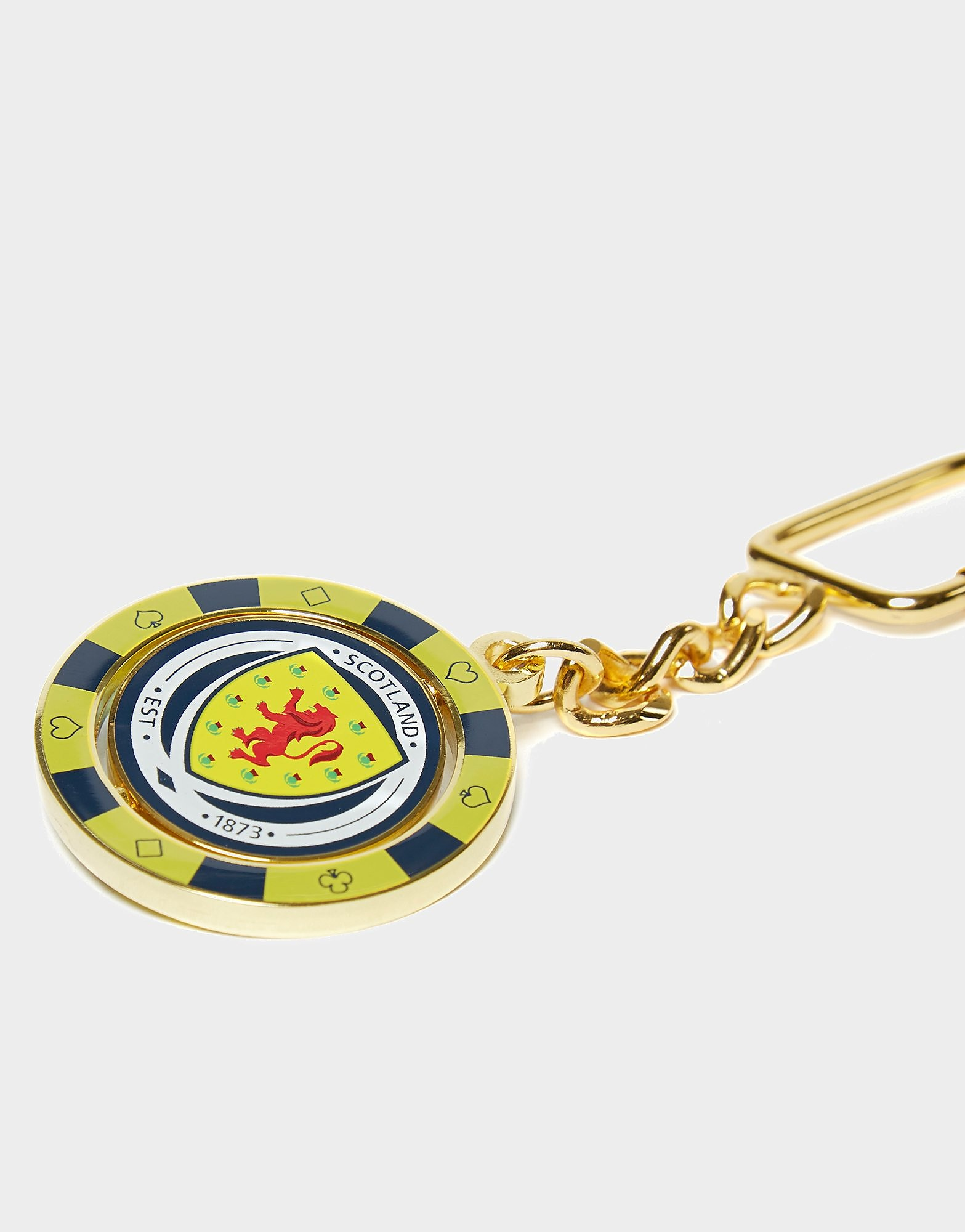 Official Team Scotland FA Poker Chip Keyring