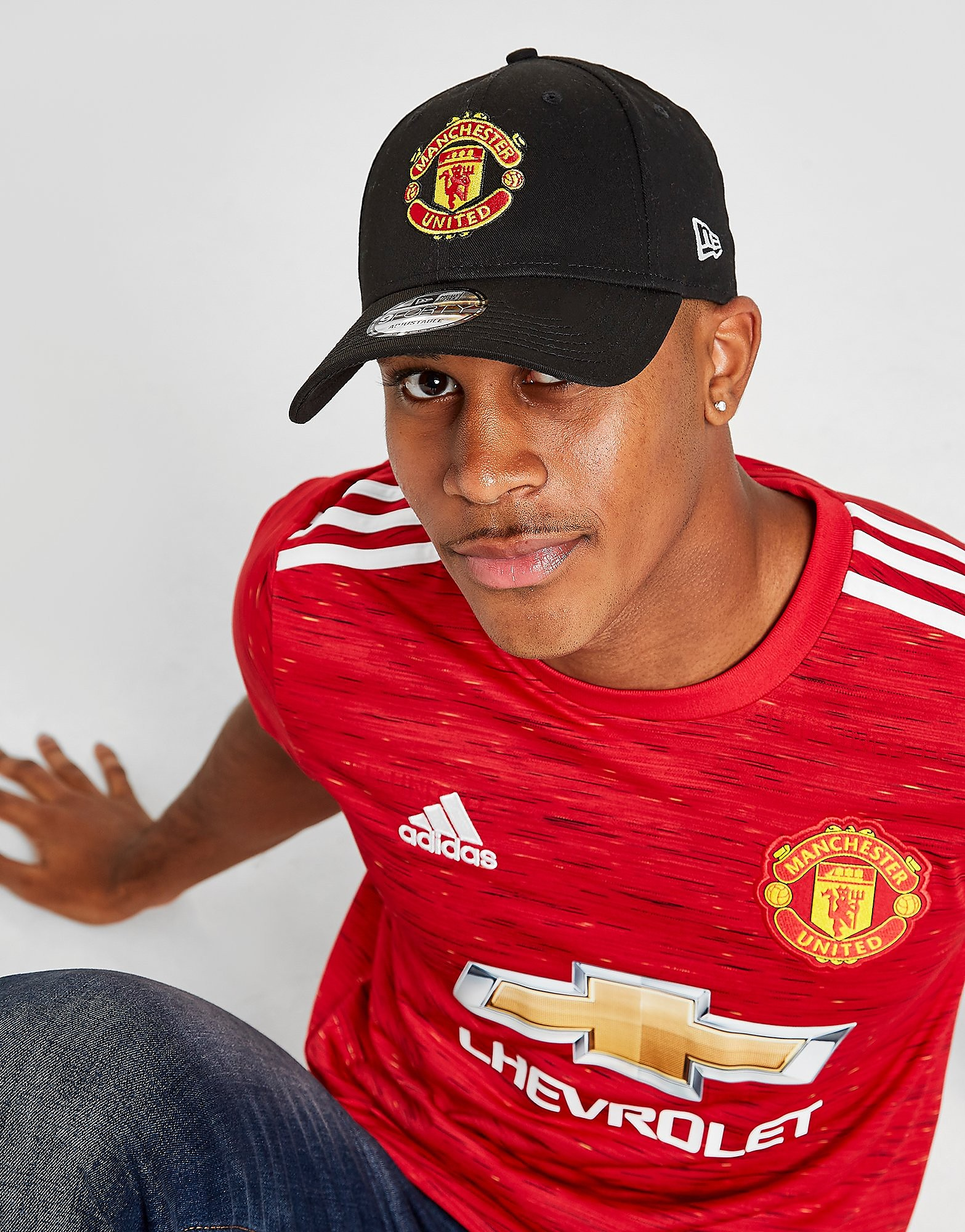 New Era Justerbar 9FORTY Manchester United-kasket