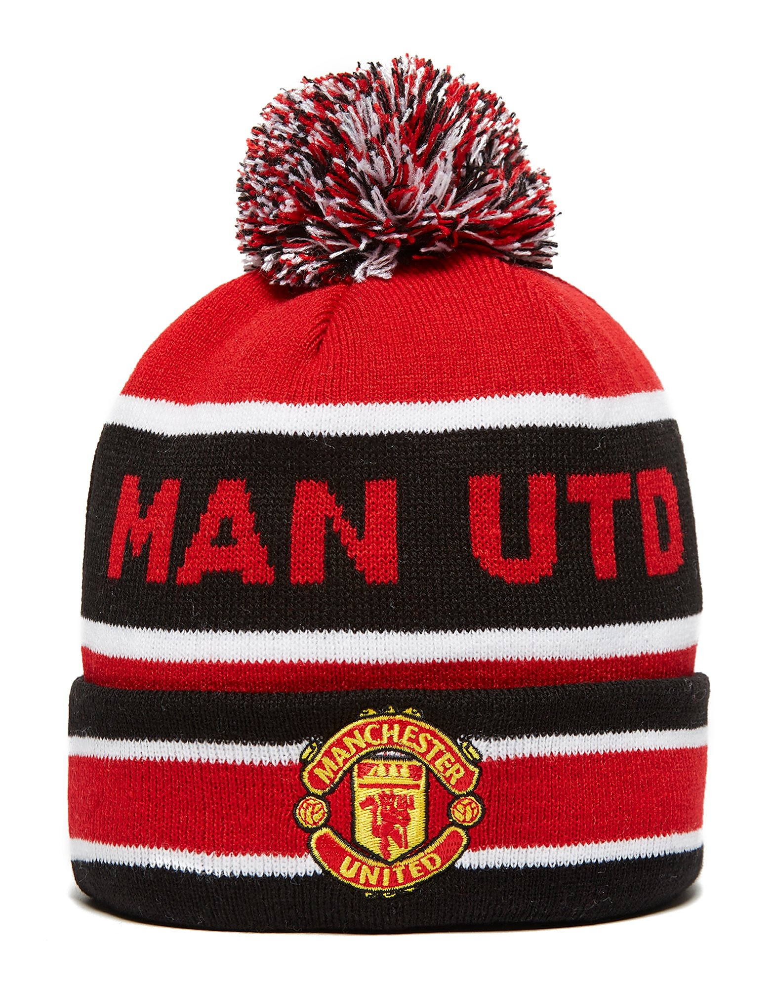 New Era Bonnet à pompon tricoté Manchester United de Jake