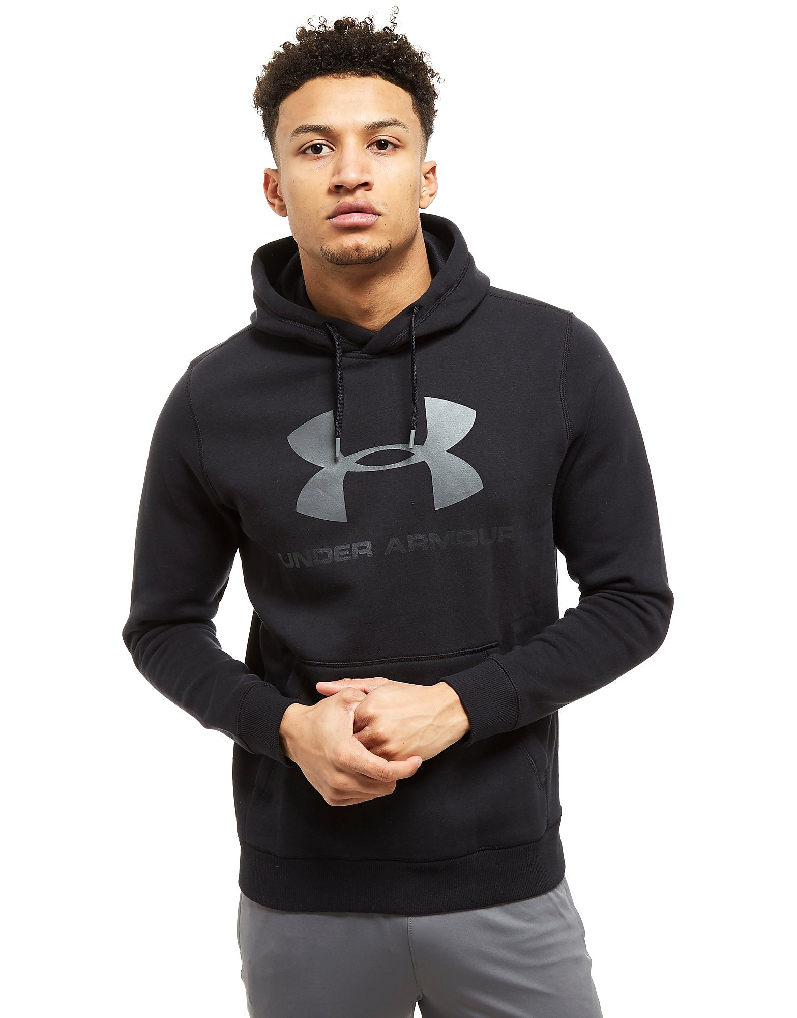 Under Armour Rival Logo Overhead Hoodie