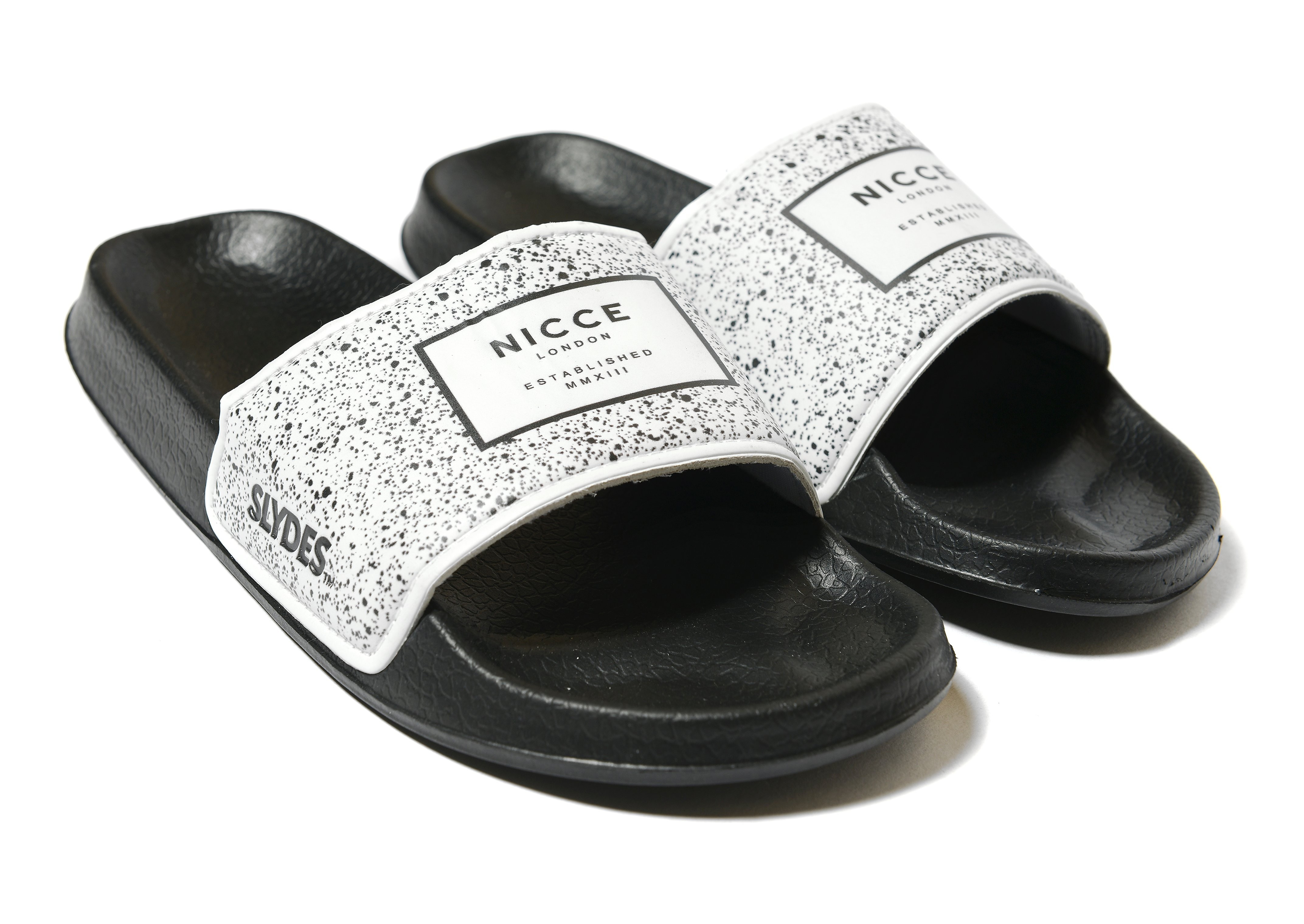 Slydes x Nicce Speckle Slides