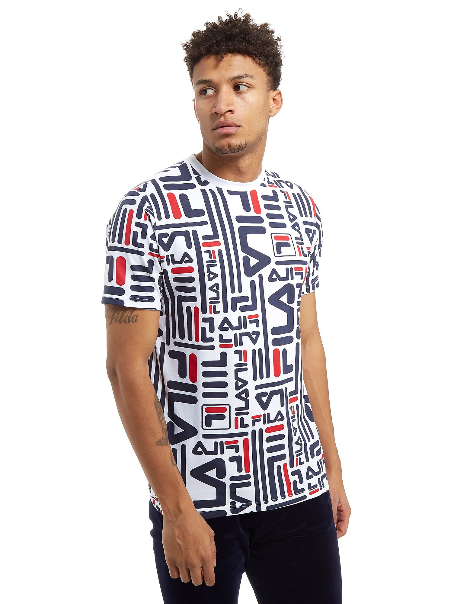 Fila Eddie All Over Print T-Shirt