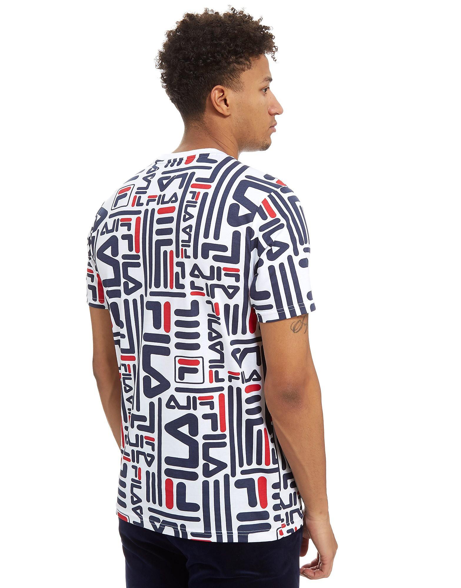 Fila Eddie All Over Druck T-Shirt