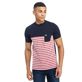 Fred Perry Pique Stripe T-Shirt