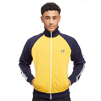 Fred Perry Tape Colour Block Track Top