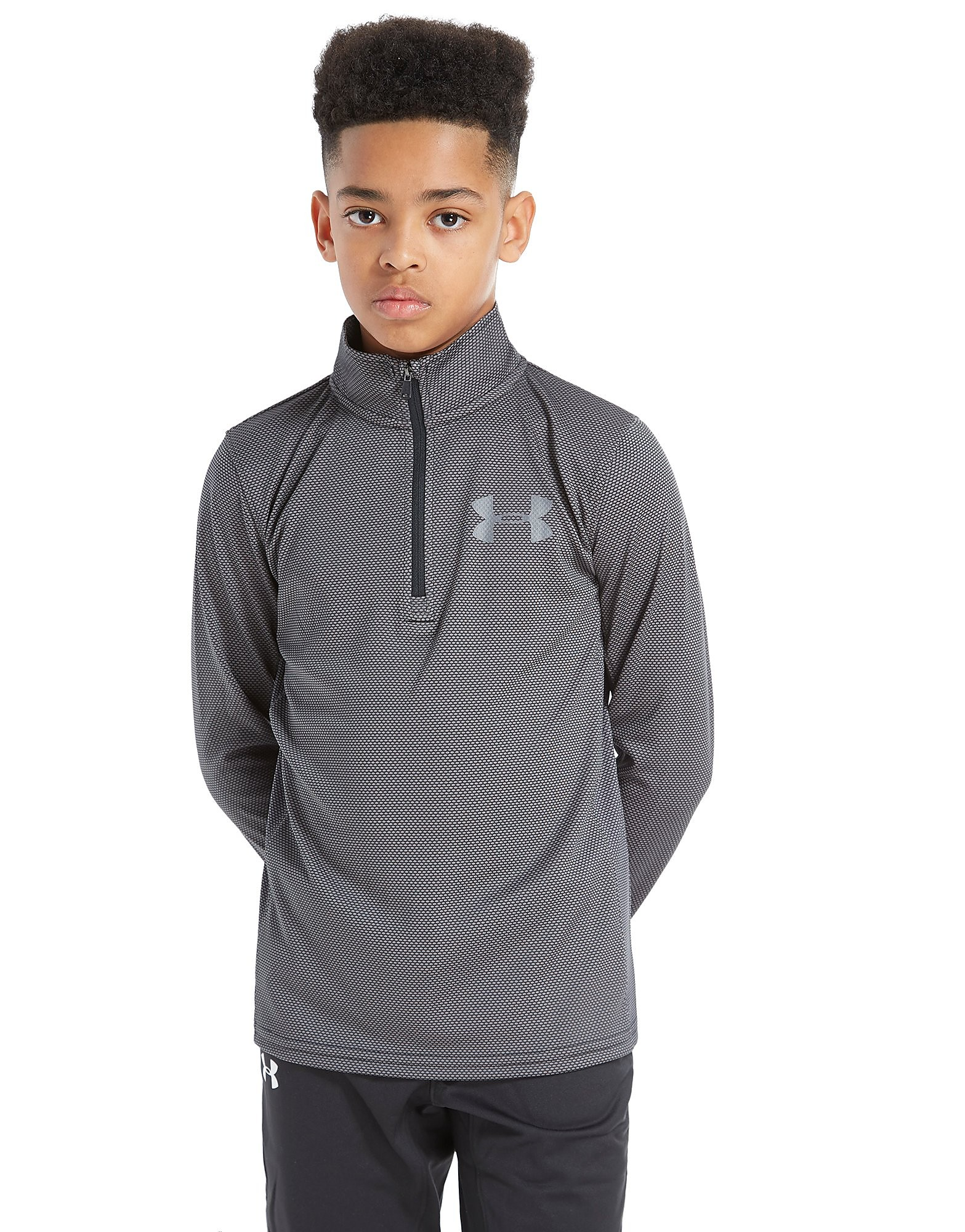 Under Armour Textured 1/4 Zip Top Junior