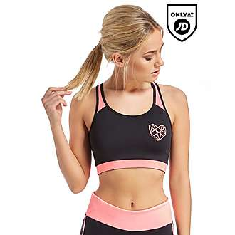 Pink Soda Sport Reversible Sports Bra