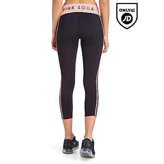 Pink Soda Sport Capri Leggings