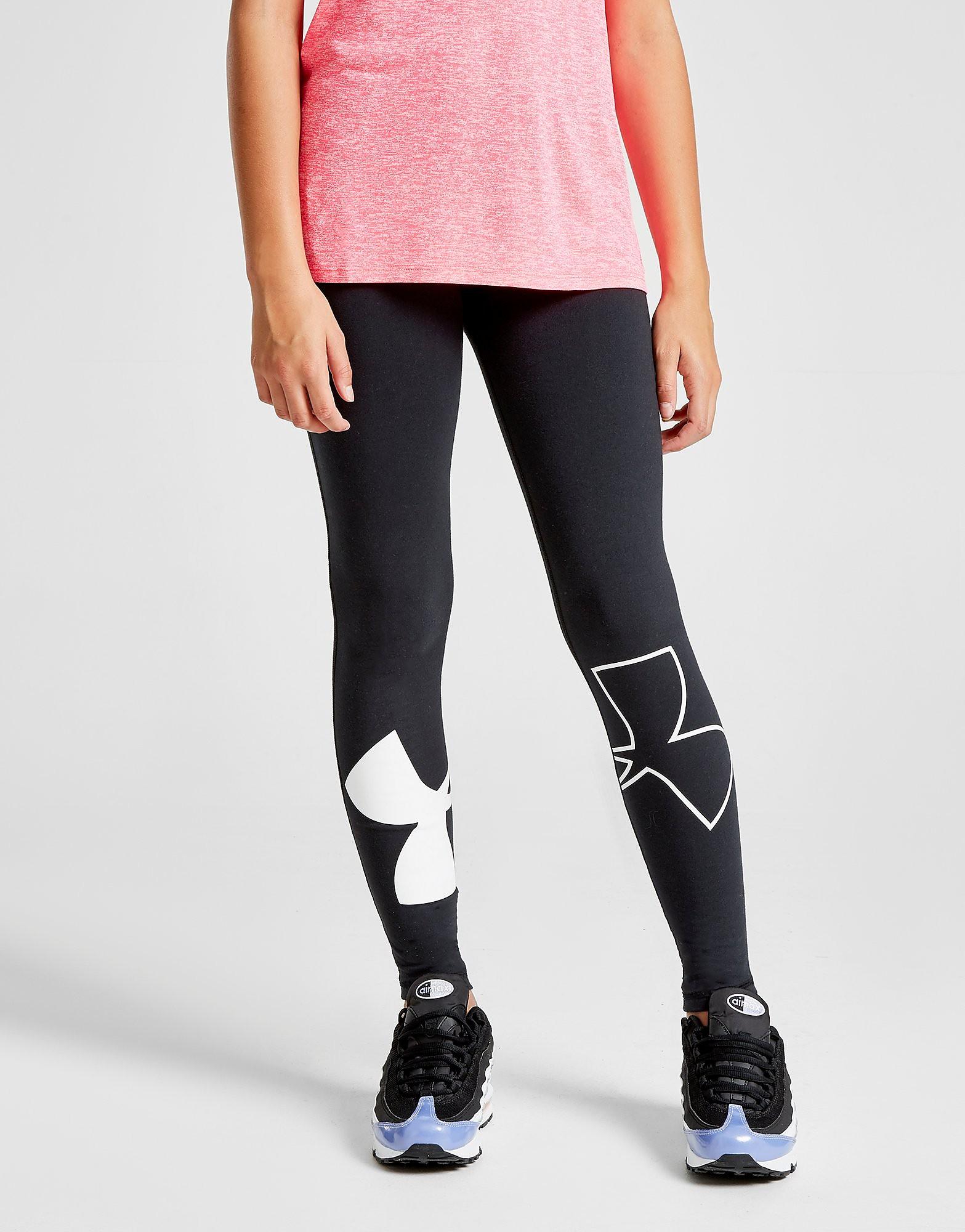 Under Armour Girls' Favourite Knit Leggings Junior - Zwart - Kind