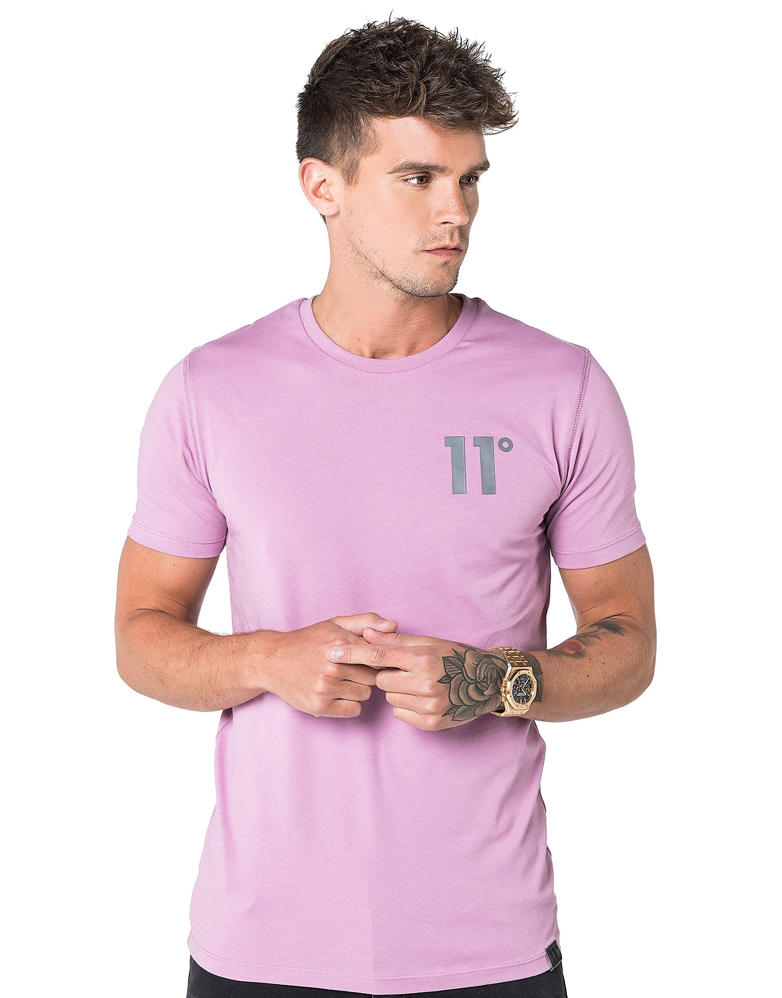 Image de 11 Degrees Core T-Shirt Homme - Orchid, Orchid