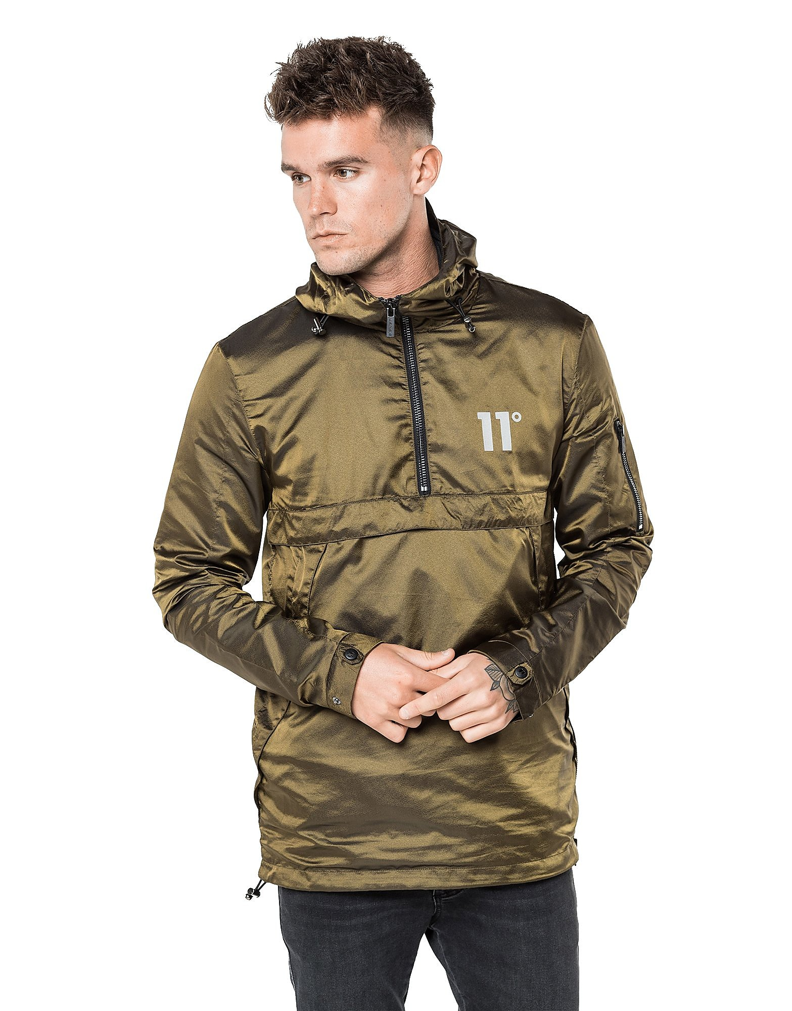 11 Degrees Over the Head Jacket