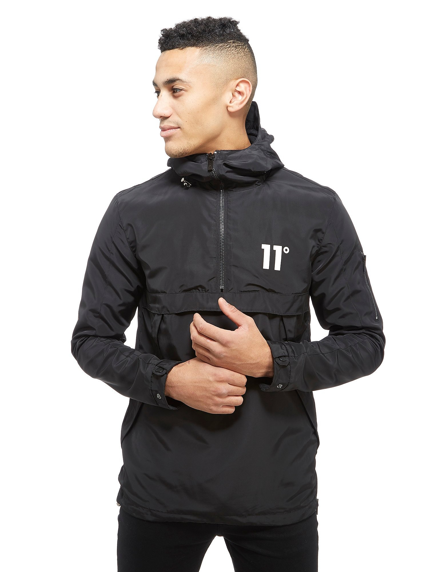 11 Degrees Hurricane Windbreaker 1/4 Zip Jacket
