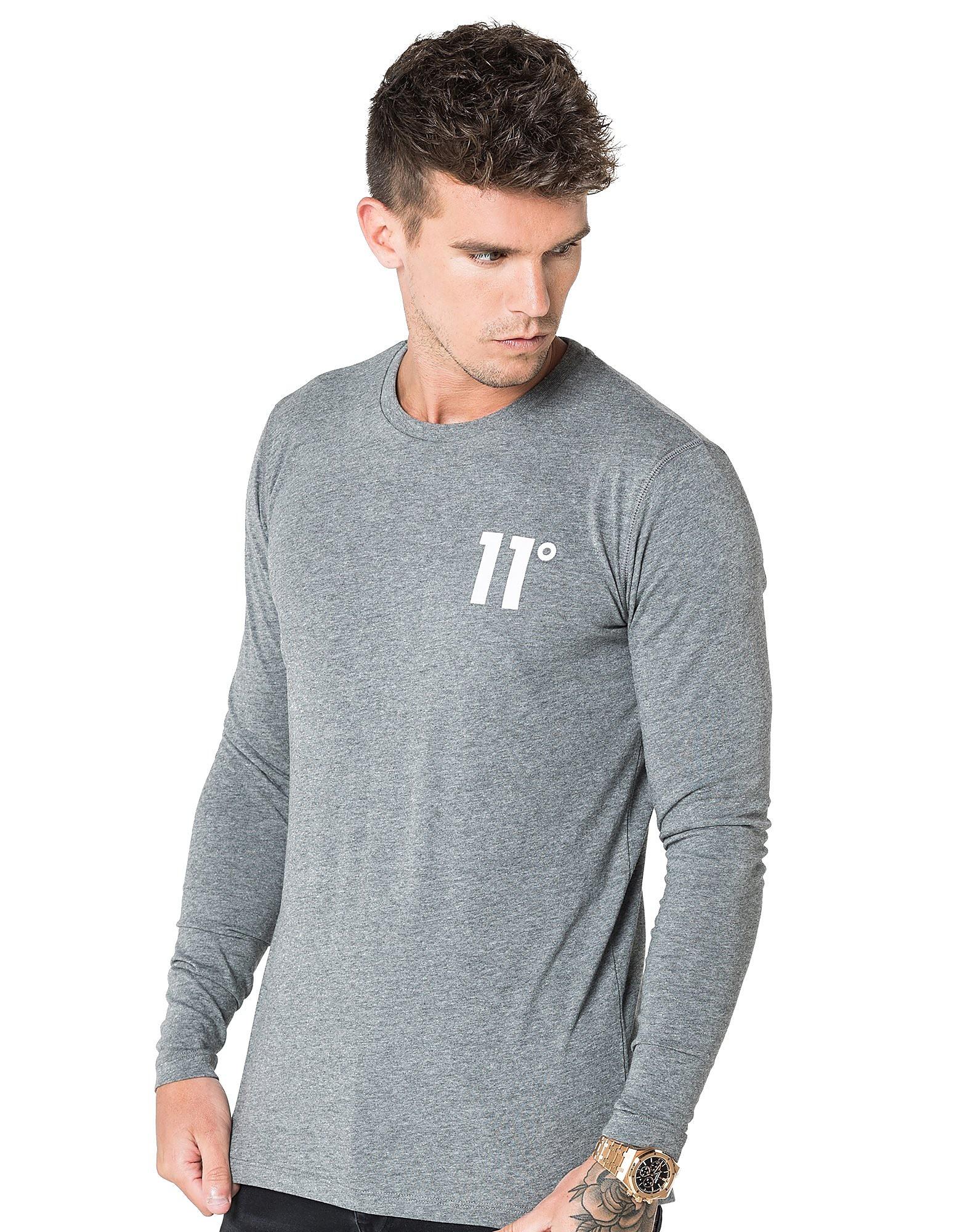 11 Degrees Core T-Shirt Homme - gris, gris
