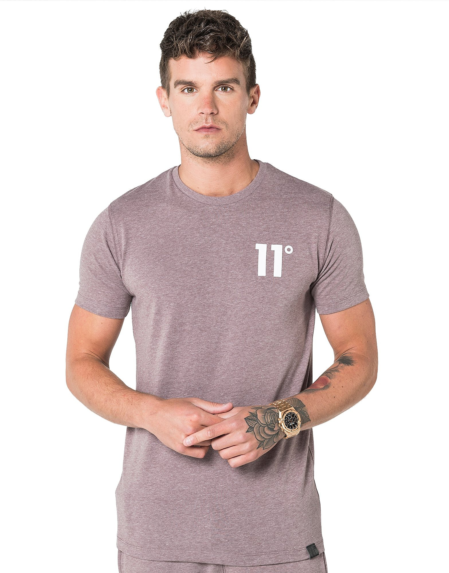 Image de 11 Degrees Core T-Shirt Homme - Brown, Brown